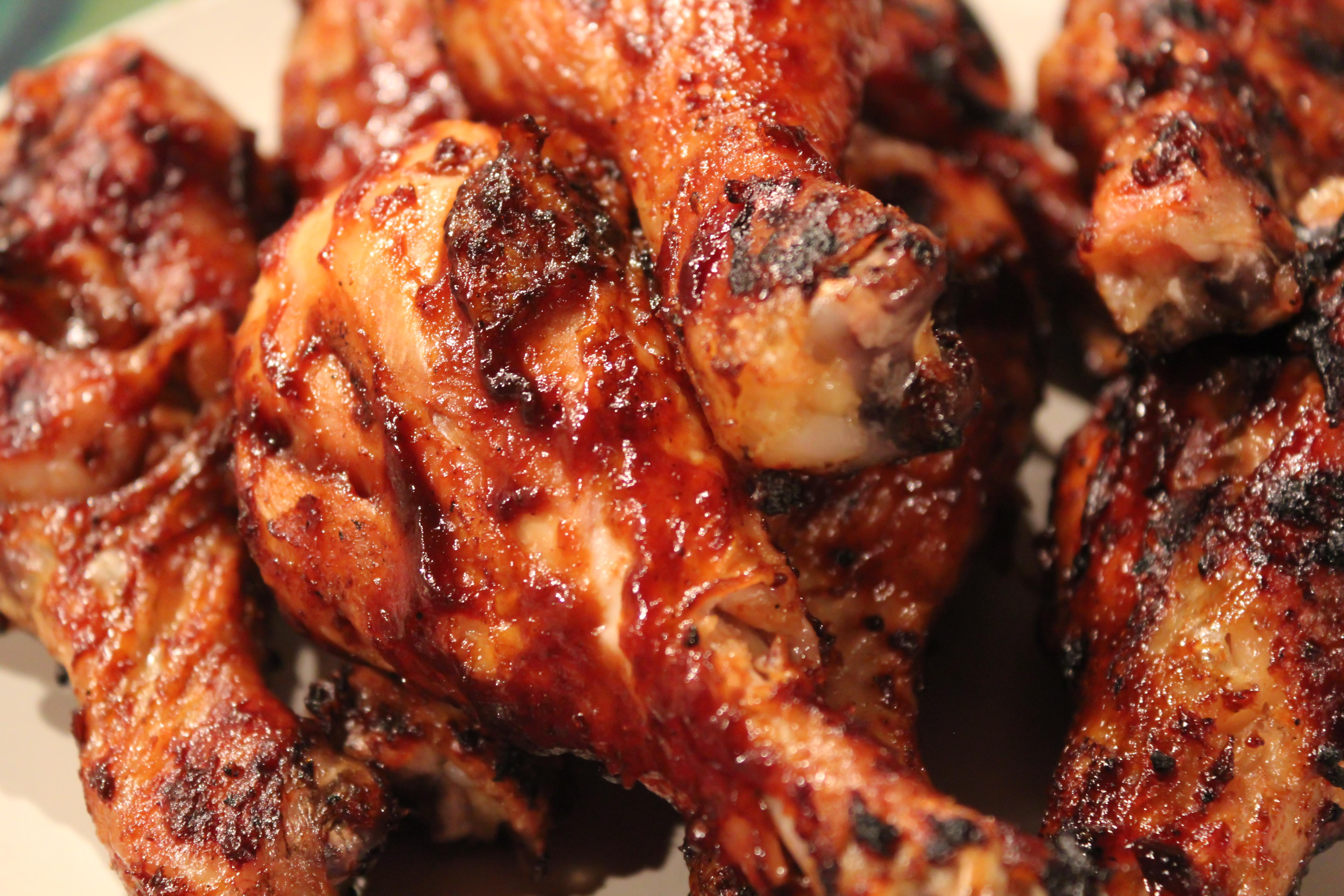 BBQ chicken...my mouth is watering!